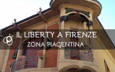 Il Liberty a Firenze: zona Piagentina